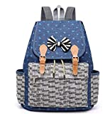 Netter Bogen-junge Mädchen-Taschen-Mode-Denim-Umhängetasche