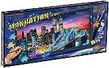Noris Spiele Schipper 609220369 - Malen nach Zahlen - Manhattan bei Nacht, 40x80 cm
