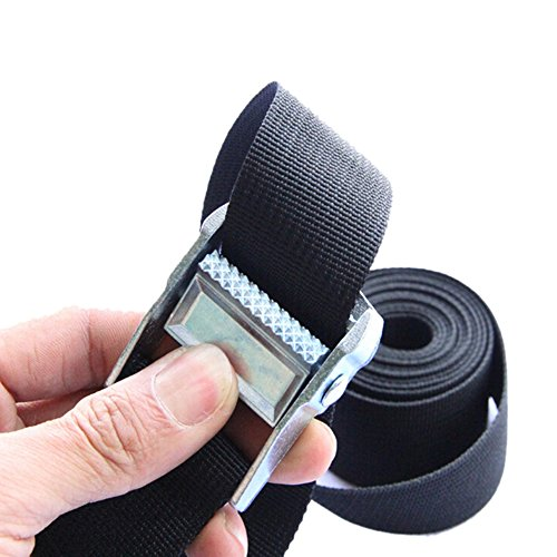 Correa amarre equipaje nailon hebilla automática