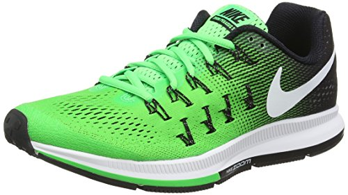 Nike Air Zoom Pegasus 33, Zapatillas de Running para Hombre, Verde (Rage Green/White-Black), 44 1/2 EU