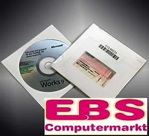 Works 9.0 (OEM CD), Textverarbeitungs-Software, DE Version