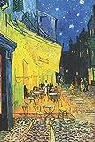 Van Gogh Carnet: Terrasse de Café le Soir, Place du Forum, à Arles - Vincent van Gogh | Élégant et Pratique | 120 Pages Avec Papier Ligné