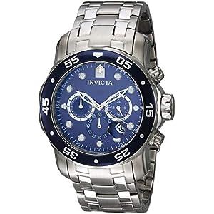 Invicta 0070 Pro Diver – Scuba Reloj para Hombre acero inoxidable