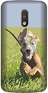 APE Designer Back Cover for Motorola Moto M