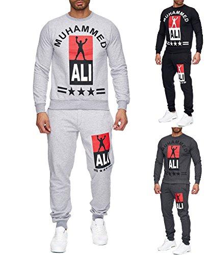 Merish Sportanzug Muhammad Ali Champion Jogginganzug Box Legende Trainigsanzug