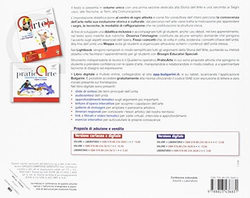Praticarte. Laboratorio per conoscere, capire e creare. Per la Scuola media. Con e-book. Con espansione online