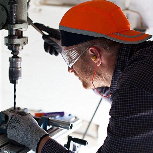 Gehörschutz mit Lamellen: Viwanda Wiederverwendbare Weich Silikon Gehörschutzstöpsel Ohrstöpsel mit 4 Lamellen und Kordel Schnur – SNR: 28dB