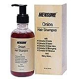 MENSOME Red Onion Intense Clarity Shampoo - with Ginger Amla, Bringraj, Methi