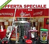 KIT DI FERMENTAZIONE BIRRA ACCIAIO INOX 18/10 FUSTO 30LT+ACCESSORI+MALTO COOPERS