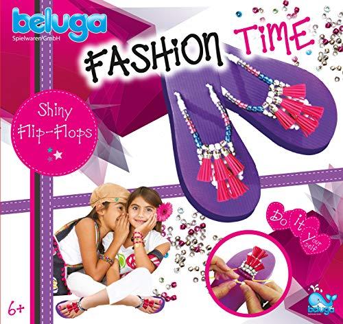 Beluga Spielwaren 12427 - Fashion Time Shiny Flip-Flops Bastelset