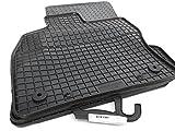 kh Teile Gummimatten VW Golf VII 7 4.TLG Orignal Qualität Gummi Fußmatten schwarz