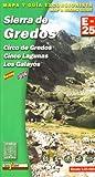 Sierra Gredos Wanderkarte 1 : 25 000 - Aa.Vv.
