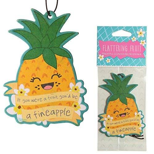 Deodorante per auto Ananas al Gusto di Ananas