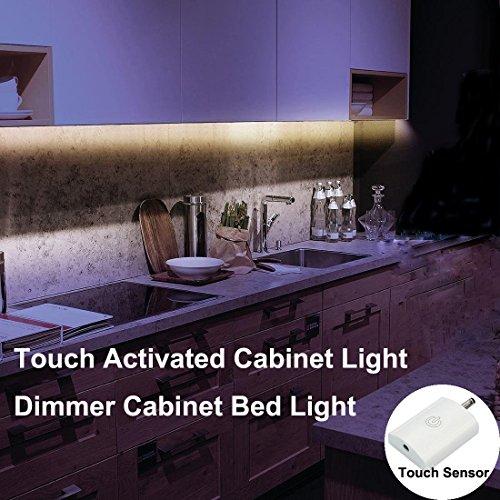 Amagle Led Streifen Nachtlichter, 2835 SMD Natürliches Weiß  Nachtlicht Streifen, Unter Kabinett