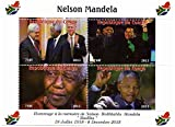 Nelson Mandela Sondermarken für Sammler - Feiern des Lebens und des Todes von Südafrikas erster schwarzer Präsident. Mit Präsident Bill Clinton - Post - Superb Zustand - 2013 / Kongo / 750F