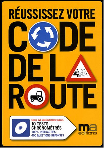 Réussissez votre code de la route (1DVD)