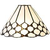 Lumilamp 5LL-5893 Lampenschirm Glasschirm Tiffany-Stil Ø 25 x 15 cm