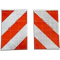 2x Bandera de advertencia Li + RE/warnf Laggen ladeb ordwand trasero Marcar Izquierda Derecha