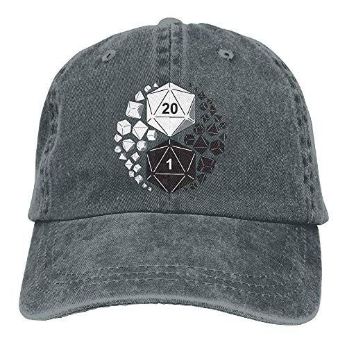 Dragons Yin Yang Unisex Adjustable Baseball Caps Denim Hats Cowboy Sport Outdoor X1206 ()
