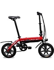 électrique pliant Vélo de ville pour femme BMX de vélo pour vélo de route Rt618250W * 36V * 7Ah 35,6cm Frein de roue V Ebike Nouvelle mise à jour