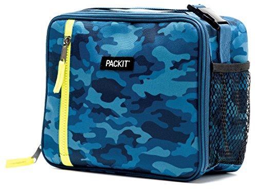 Pack-it PACKIT Classic Sac-Repas Mixte Adulte, Blue Camo, 4,5 L