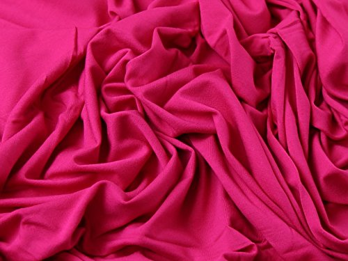 plain-viscose-lycra-stretch-jersey-knit-dress-fabric-fuchsia-pink-per-metre