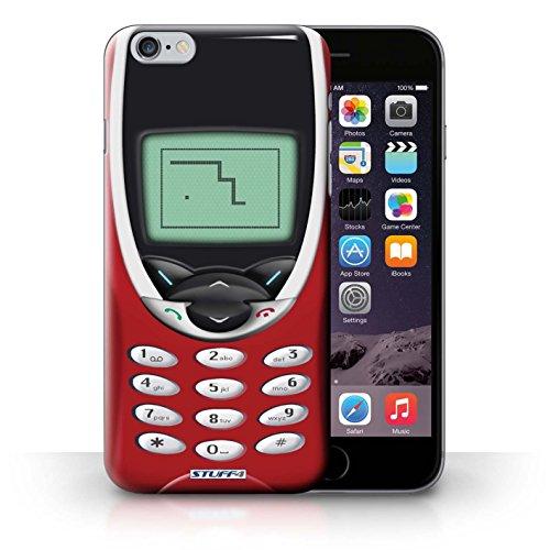 Kobalt® Imprimé Etui / Coque pour iPhone 6+/Plus 5.5 / Nokia 8210 chaux conception / Série Portables rétro Nokia 8210 rouge