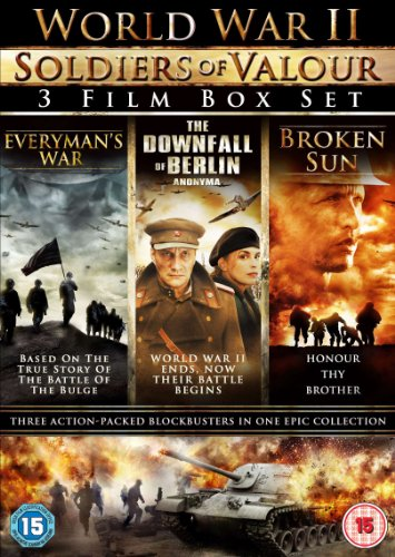 world-war-ii-soldiers-of-valour-3-disc-boxset-everymans-war-the-downfall-of-berlin-broken-sun-3-dvds