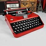 FLB Vintage Machine à écrire rétro Machine à écrire modèle Ornements, Salon...