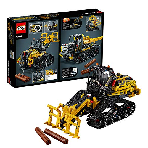LEGO 42094 Technic Tracked Loader Excavator Construction Toy Vehicle 2 in 1 Model Tracked Dumper Kids Digger Toys