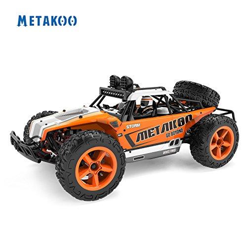 Metakoo RC Coche Teledirigido con LED vehículo de velocidad 40km/h Escala del 1:12 Coche Control Remoto con baterías