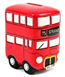 Think Favours Lustige, Routemaster Bus Spardose, Rot