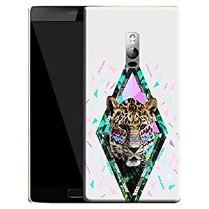 Theskinmantra Cubes Lion back cover for Oneplus 2