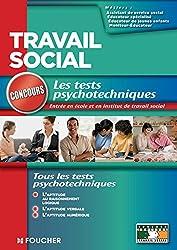 Travail social concours les tests psychotechniques (Concours Travail social)