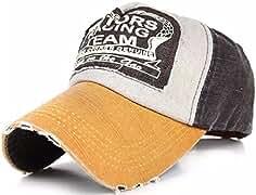 morefaz Cappello da Baseball Cap-Berretto con visiera regolabile A-Z-Hip  Hop Snap Back 9e9cf302eb8c