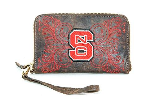 Gameday Stiefel Damen N N Carolina State Wristlet, Messing, 8x 5x 1/2 - Carolina Messing