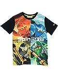Lego Jungen Ninjago Masters of Spinjitzu T-Shirt 128