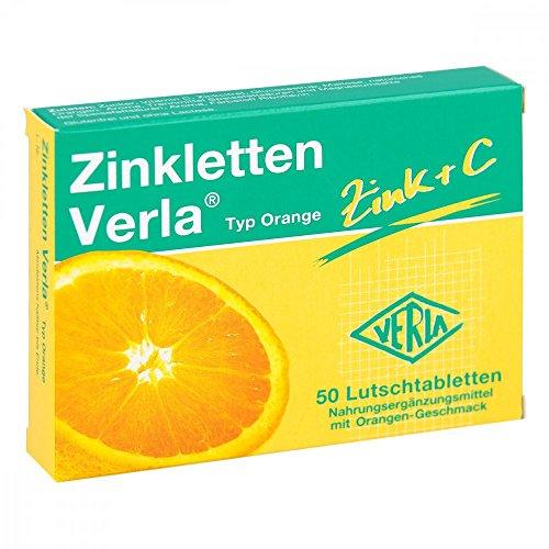 Zinkletten Verla Orange Lutschtabletten 50 stk