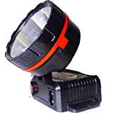 Tool Zone - ONLITE L-714 Led Head Light Rechargeable For Home And Outdoor Lighting 10W (Outer Body Color May VARY)