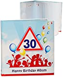 alles-meine.de GmbH Geburtstag -  30 Jahre - Happy Birthday  - Erinnerungsalbum / Fotoalbum - Gebunden zum Einkleben & Eintragen - Album & Erinnerungsbuch - Fotobuch / Photoalb..