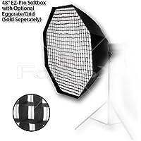 Fotodiox 10SBXNM - M48OTEZ Profi Studio-Lösungen EZ Pro 48 Octagon Softbox con connection speed ring per Norman Monolight ML600R