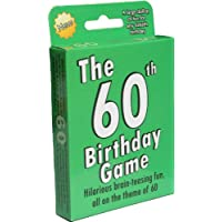 The 60th Birthday Game: a fun gift or present specially for people turning sixty. Also works as an amusing little 60th party quiz game idea or icebreaker