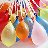 Red Rock Seconds Fill & Automatic 333pcs Tie Multi Colored Magic Water Balloons