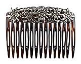 Rivelle Trachten Haarkamm - Haarschmuck Damen Vintage Einsteck-Kamm Hair Comb Hochzeit