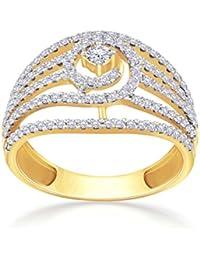 Malabar Gold And Diamonds 18KT Yellow Gold And Diamond Ring For Women - B07B56563C