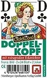 06719910501 - Nürnberger Spielkarten - Doppelkopf eXtra cLassic, französisches Bild im Klarsichtetui