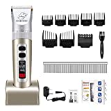 Best Cordless Dog Clippers - OMORC Cordless Dog Clippers, Professional Dog Grooming Clippers Review
