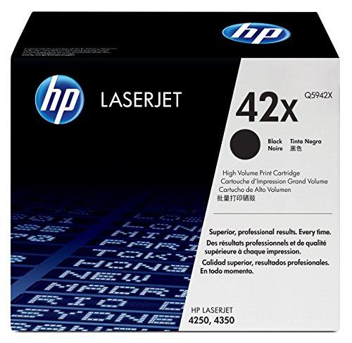 HP 42X Schwarz Original LaserJet Tonerkartusche mit hoher Reichweite -