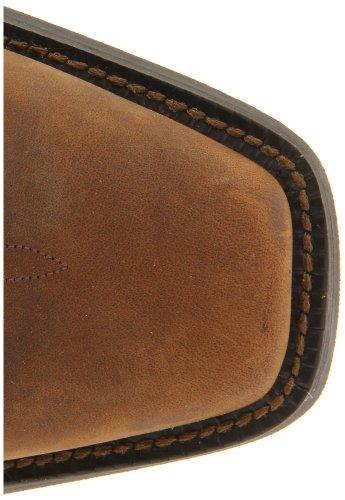Justin Boots Stampede Western Large Cuir Santiags brown