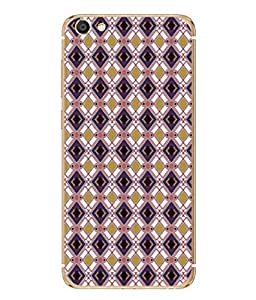 PrintVisa Designer Back Case Cover for Vivo X7 Plus (mosaic stylish layers complicated pattern)